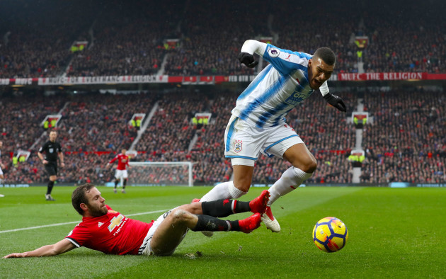 Manchester United v Huddersfield Town - Premier League - Old Trafford