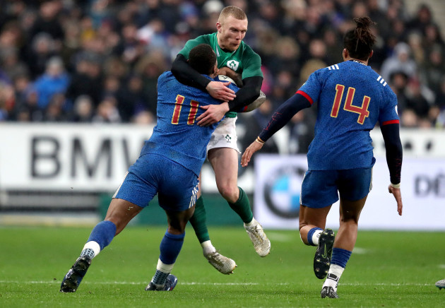 Sexton breaks French hearts with last-second drop goal