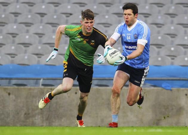 Sean Cavanagh and John Finan
