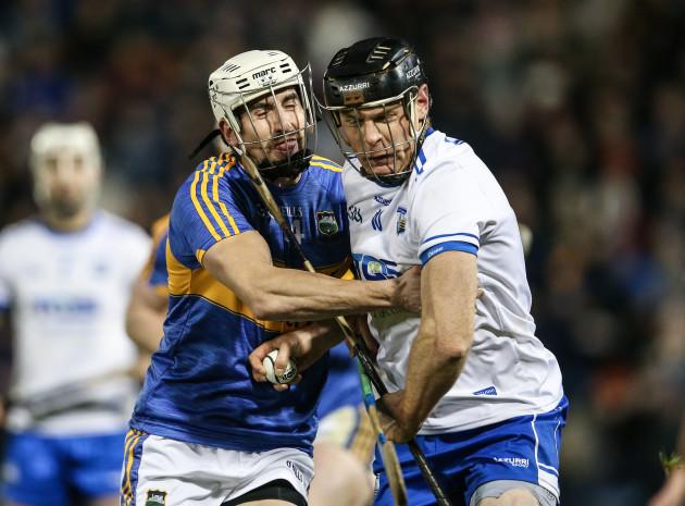 Patrick Maher tackles Kevin Moran
