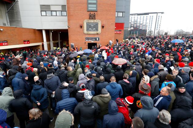 Manchester United v Huddersfield Town - Premier League - Old Trafford