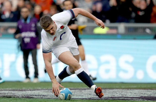 Owen Farrell scores their third try