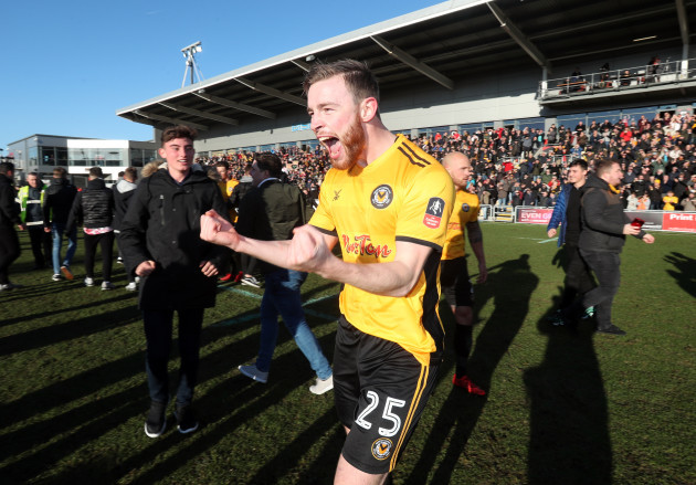 Newport County v Leeds United - Emirates FA Cup - Third Round - Rodney Parade