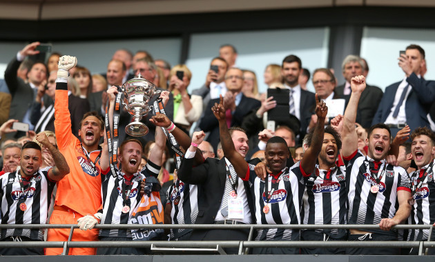 Forest Green Rovers v Grimsby Town - Vanarama National League - Play Off - Final - Wembley Stadium