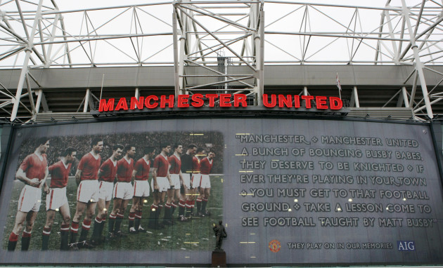 Soccer - 50th Anniversary Of The Munich Air Disaster