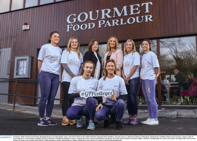 Gourmet Food Parlour to sponsor the LGFA Higher Education championships