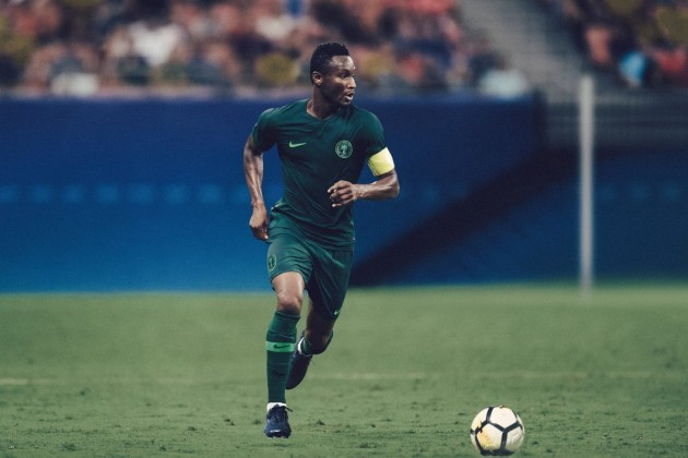 Nigeria World Cup away shirt
