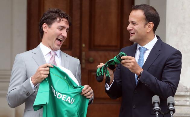 Justin Trudeau Ireland visit