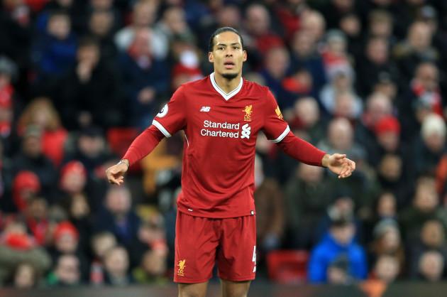 Liverpool v Tottenham Hotspur - Premier League - Anfield