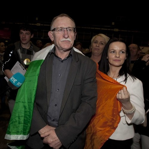 File Photo SINN FÉIN HAS slapped two of its local representatives in north Dublin with disciplinary measures after a meeting of the party's governing board. The meeting yesterday evening of the party's Ard Chomhairle resulted in a six-month suspensio
