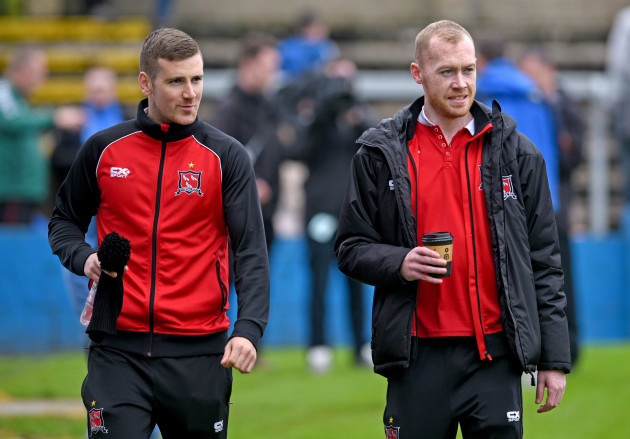Patrick McEleney and Chris Shields
