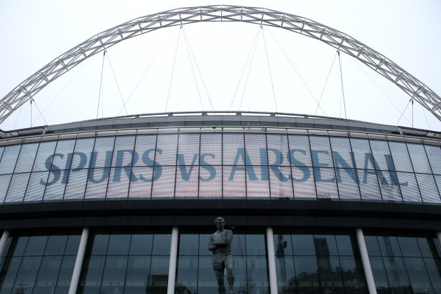Tottenham Hotspur v Arsenal - Premier League - Wembley Stadium