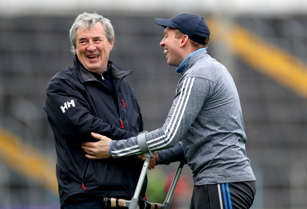 Tadhg O'Sullivan and Shane Dowling