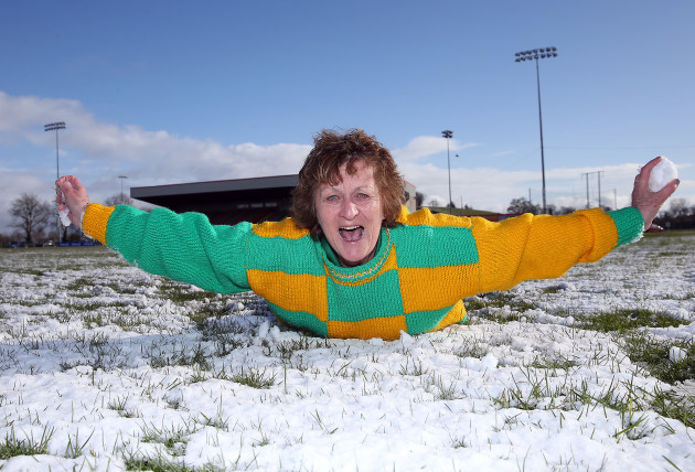 Eimear Hogan after the match was called off
