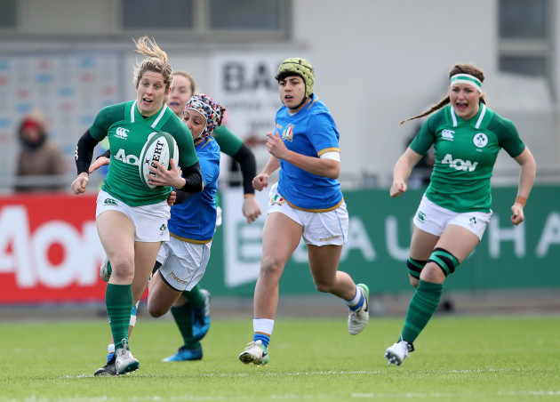 Ireland Seal Six Nations Bonus Point By Half
