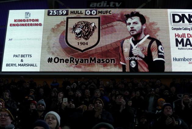 Hull City v Manchester United - EFL Cup - Semi Final - Second Leg - KCOM Stadium