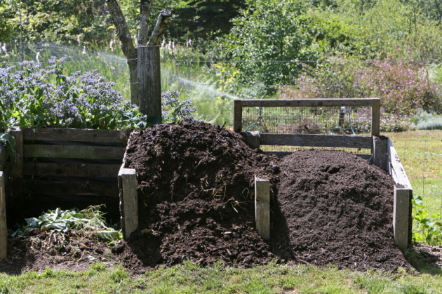 Compost And Loam For The Garden