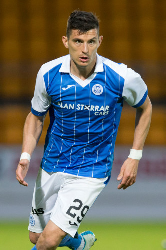 St Johnstone v Trakai - UEFA Europa League Qualifying - First Round - First Leg - McDiarmid Park