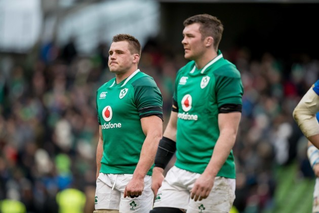 CJ Stander and Peter O'Mahony