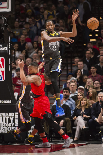 NBA: Golden State Warriors at Portland Trail Blazers