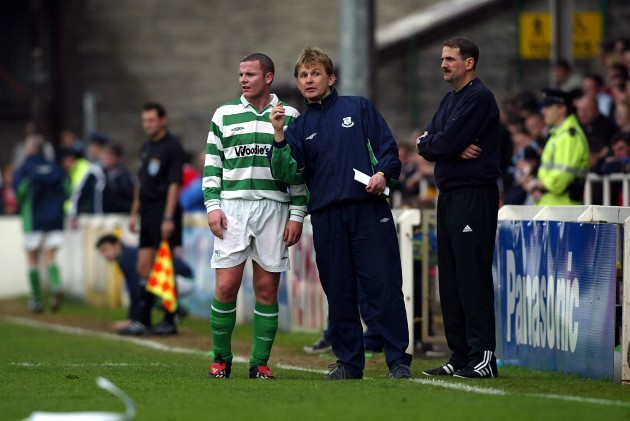 Liam Buckley talks to Keith O'Halloran 23/4/2004