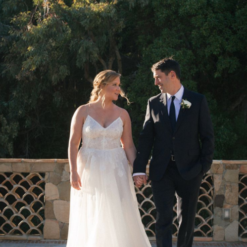 Amy Schumer secretly weds beau Chris Fischer