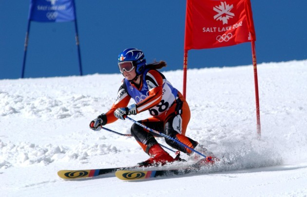 Winter Olympics - Salt Lake City 2002 - Allpine Skiing - Women's Giant Slalom