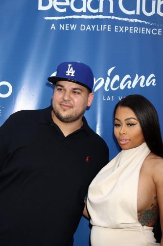 Rob Kardashian and Blac Chyna host Memorial Day Weekend - Las Vegas