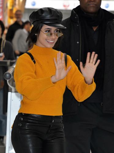 Camila Cabello arrives at Narita International Airport - Japan