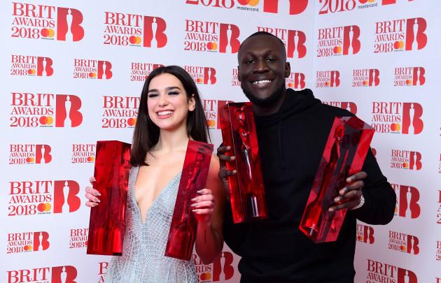 Brit Awards 2018 - Press Room - London