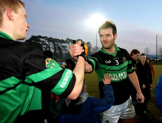 Derek Kavanagh celebrates