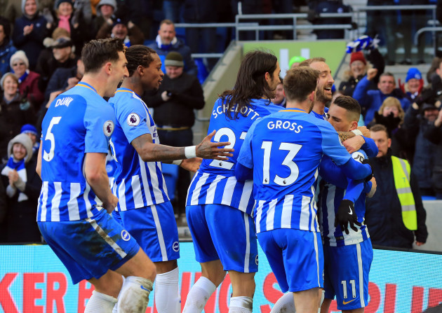 Brighton & Hove Albion v Swansea City - Premier League - AMEX Stadium