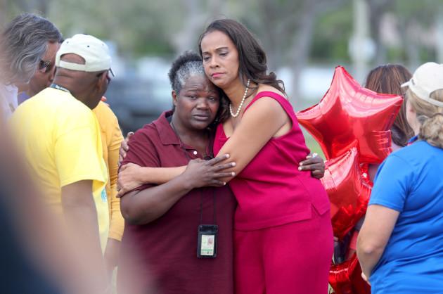 Teachers Return To Stoneman Douglas High School