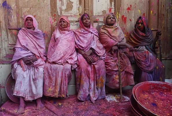 TOPSHOT-INDIA-RELIGION-HINDUISM-HOLI