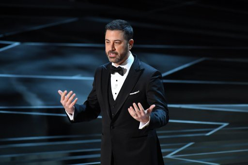 Jimmy Kimmel takes aim at Harvey Weinstein at Oscars