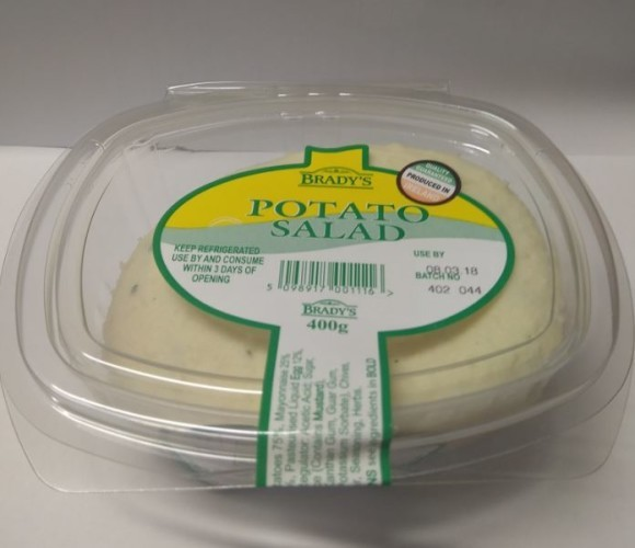 Bradys Potato Salad 400g