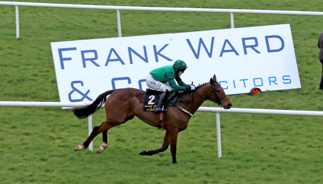 Footpad ridden by Paul Townend comes home to win
