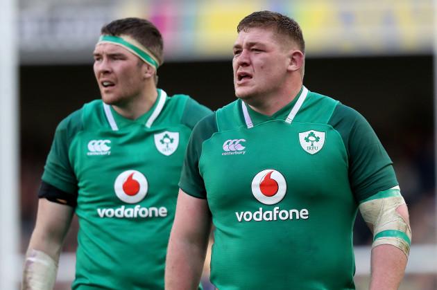 Peter O'Mahony and Tadhg Furlong