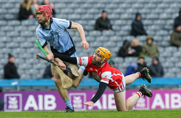 Oisin Gough stops Adrian Breen