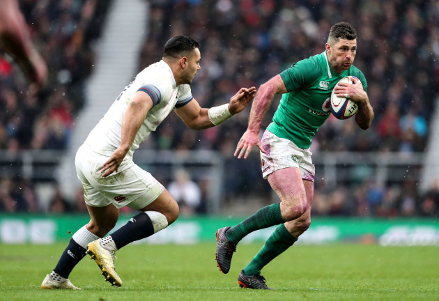 Rob Kearney and Ben T'eo