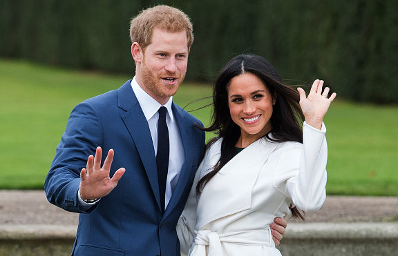 Royal prize on the cards for engaged Harry and Meghan's
