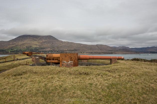 Lonehort Battery on Bere Island 1