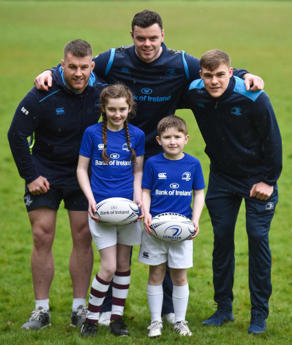 2018 Bank of Ireland Leinster Rugby Summer Camp Launch