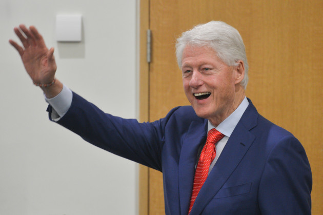 Dublin: Bill Clinton marks the 20th anniversary of the Good Friday Agreement
