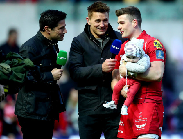 Craig Doyle and Jonathan Davies interview Scott Williams
