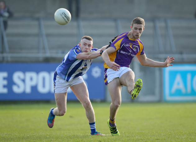Paul Mannion with Cathal Flaherty