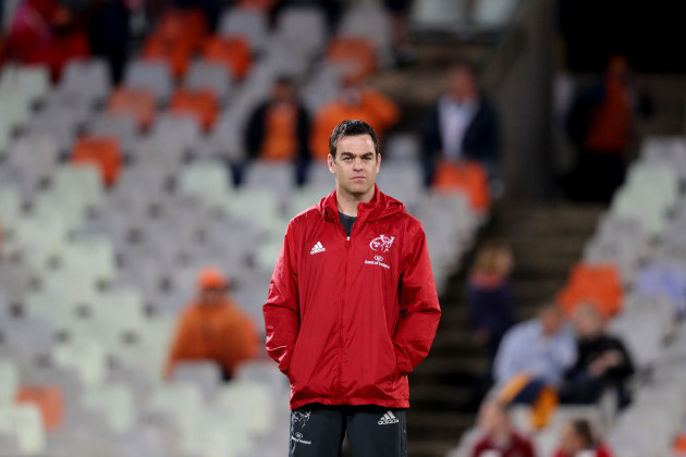 Johann van Graan before the game