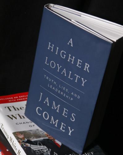 Trump Comey Book