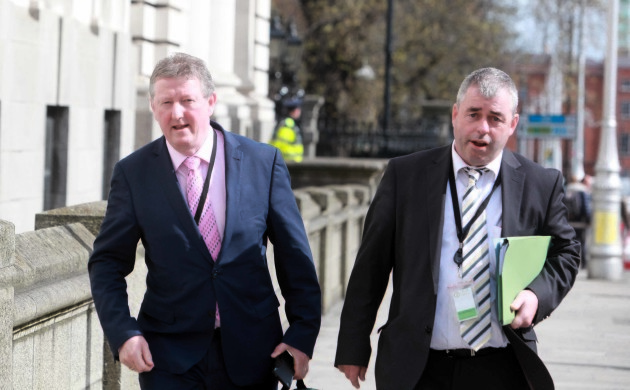 fILE Photo Independent Alliance may hold vote to settle members' dispute Kevin 'Boxer' Moran and Seán Canney disagree over rotating ministerial post, End.