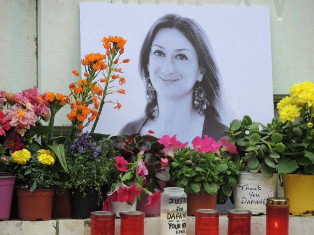 Six months after the attack on a Maltese journalist